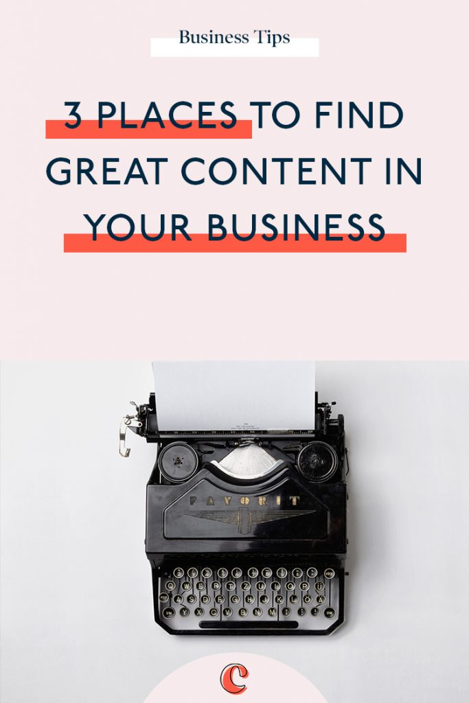Never struggle to find business blogging ideas again with these 3 excellent places to look, that will give you business blogging topics year after year.