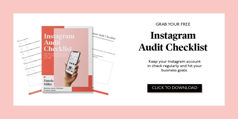 Instagram Audit Checklist