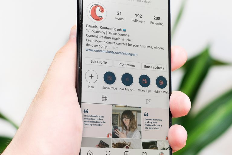 Instagram Story Highlights Audit for small business plus free checklist