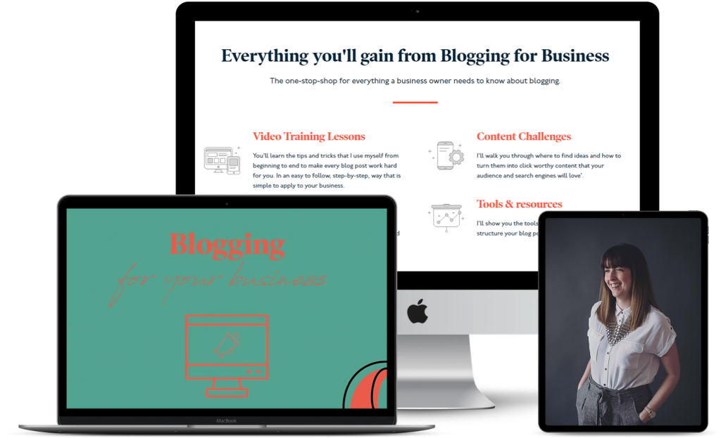 Blogging for business ecourse