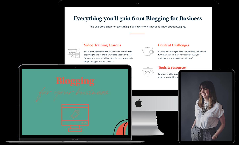 Blogging for business ecourse