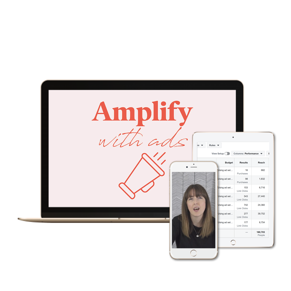 Amplify with ads
