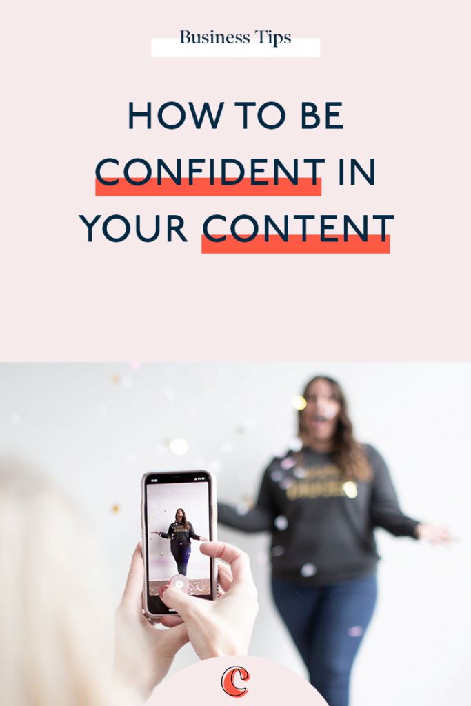 How to be confident in your content