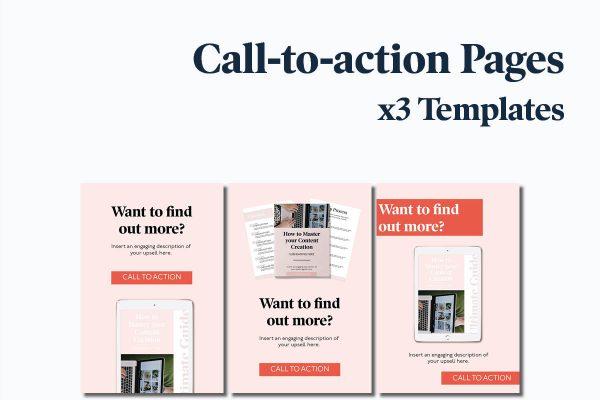 Lead Magnet Bundle indesign & canva templates for entrepreneurs