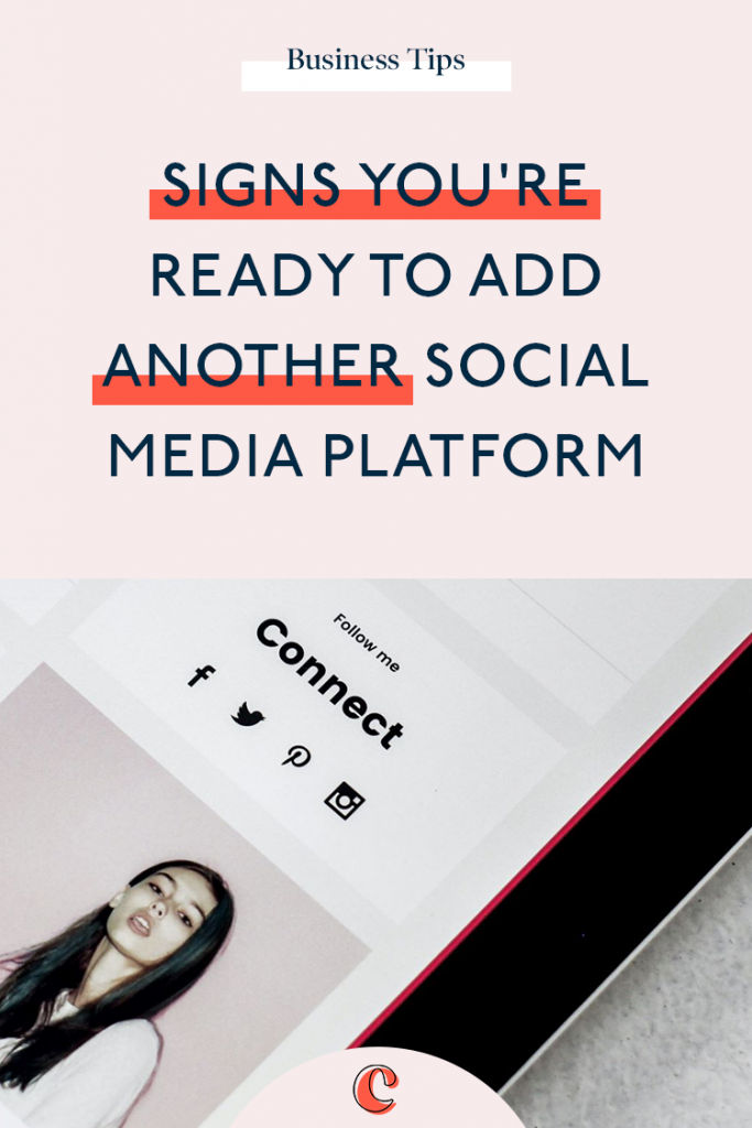 Signs you're ready to add another social media platform