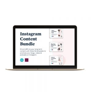 Instagram story and feed templates for business owners canva indesign templates
