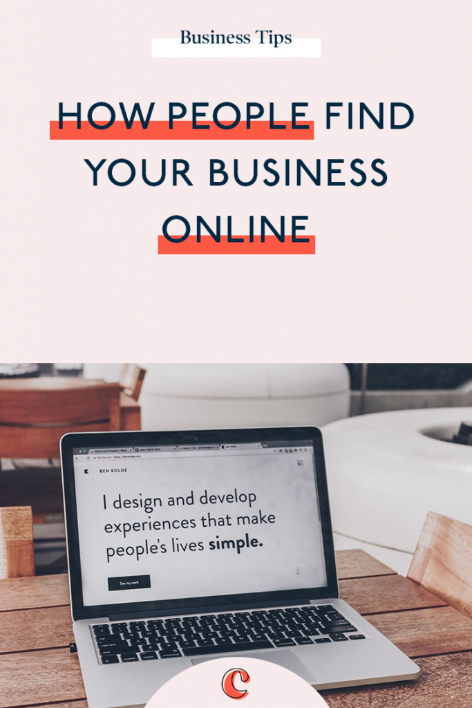 How people find your business online | Content Clarity | It goes without saying that in this day and age, people will expect your to have a website. But just how can you make sure that people can find your business online?