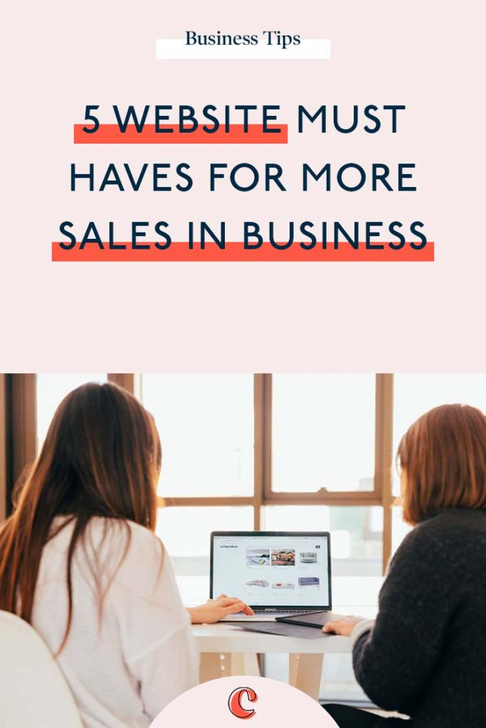 5 website must haves for more sales in business | Content Clarity | Your website is more powerful than you know. It's more than just a space and presence, it's your sales team, your cashier, your marketing department, your PR team all pulling together to make sure that what you offer is getting discovered on Google, that it's clear, captivating and most importantly selling for you. When it comes to website must haves to make sales, there 5 key elements every website should have.