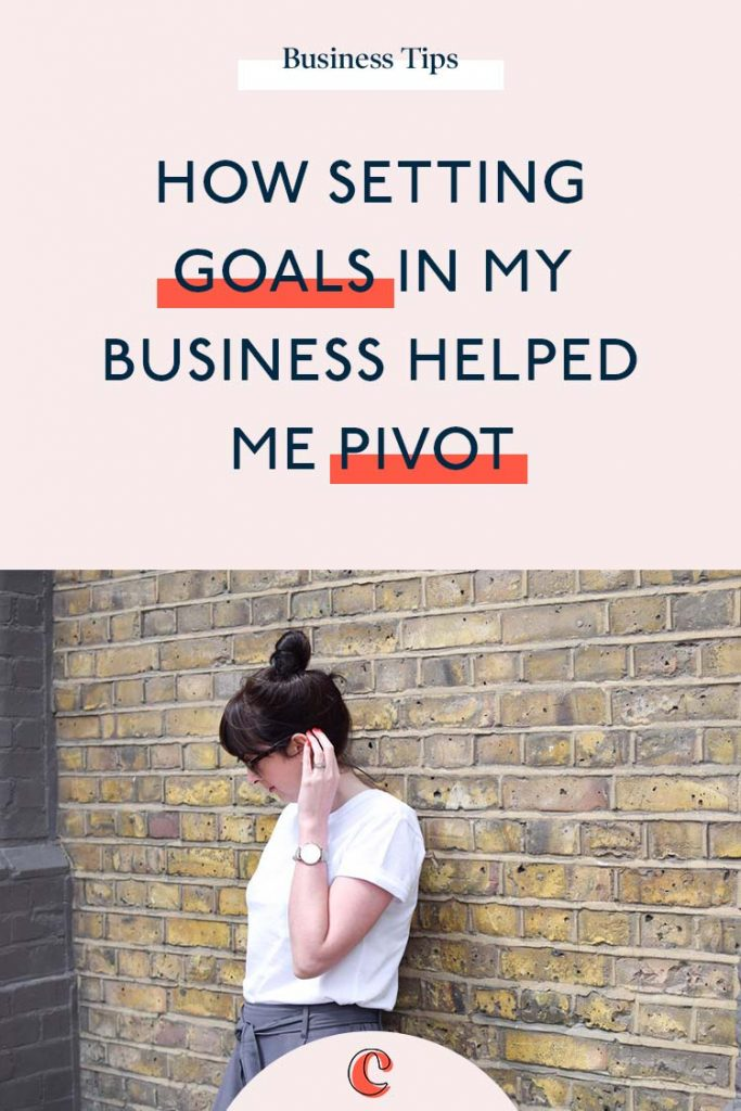 How setting goals in my business helped me pivot | Content Clarity | Setting goals in business is one of those loose things that as business owners, we tend to skip over. It's up there with business plans and cashflow projections. But if there's one thing I've learned in business, it's that there's some things which you just can't gloss over and setting goals is one of them.