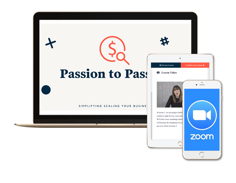 Passion to Passive Wait | Content Clarity | You're working ALL the hours in the service based industry, consulting or freelancing, but want to unchain yourself from your desk and start earning passive income, but don't know how?!