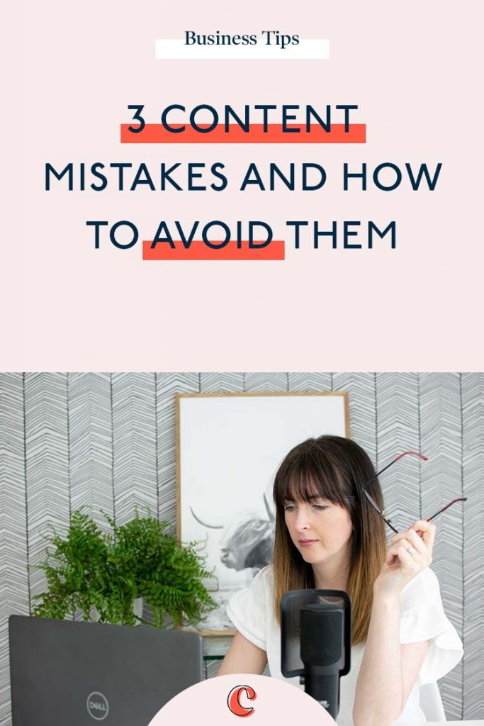 3 of the most common content mistakes and how to avoid them | Content Clarity | If you're reading this, chances are you're struggling with your content. Perhaps not getting the results from it that you'd hoped. I always say it takes just as long to create a piece of content, whether it's good of bad… So it might as well be good, right?!