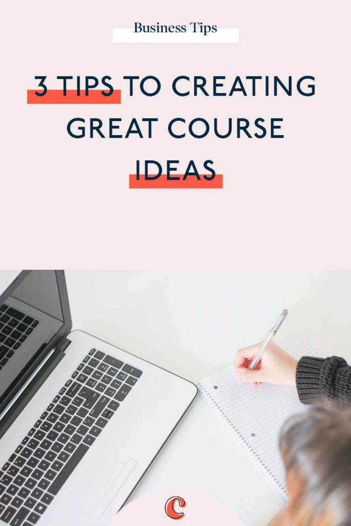 3 Tips for coming up with a great course idea | Content Clarity | Coming up with a great course idea for your business, can seem a little daunting. But just like anything. It just takes a little practice. Trust me… You'll be coming up with 100 course ideas in no time! So, how exactly do you come up with a great course idea, that your audience will actually want to buy? Well here's my 3 tips…