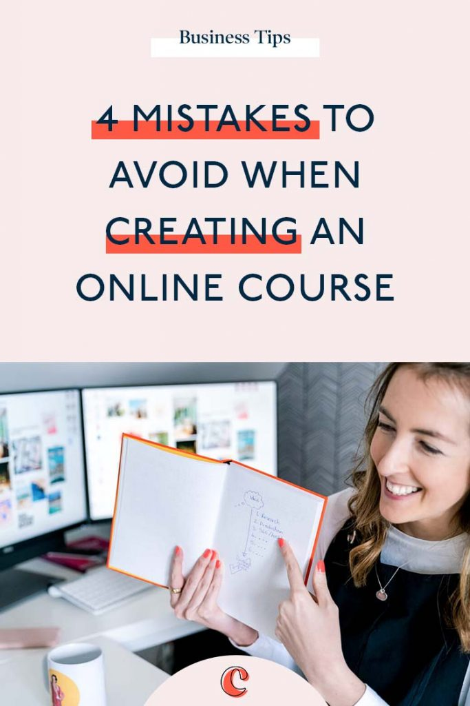 4 Mistakes to avoid when creating a course | Content Clarity | Rewind to 2018 and when I first launched Content Clarity. As I already knew I was entering the coaching space, I knew courses were an essential part of my offer suite. So I launched with 3 courses.